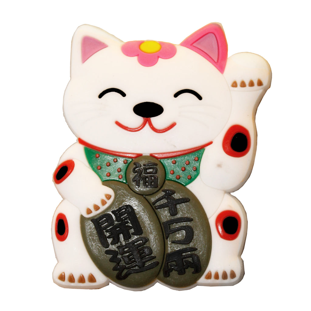 Chinese Lucky Cat PVC Fridge Magnet