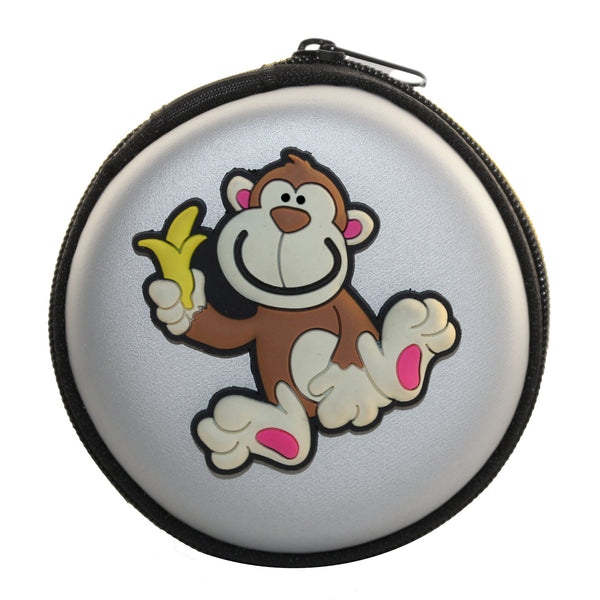 Monkey w/ Banana Earphone Case Cover