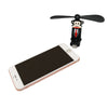 Black Monkey USB Fan for iPhones and iPads