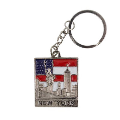 New York Key Chain Custom Promotional Item