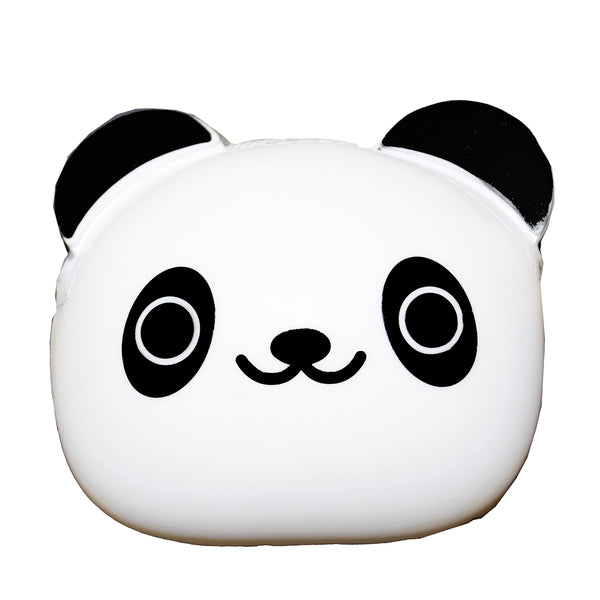 Panda Bear Animal Silicone Rubber Coin Purse