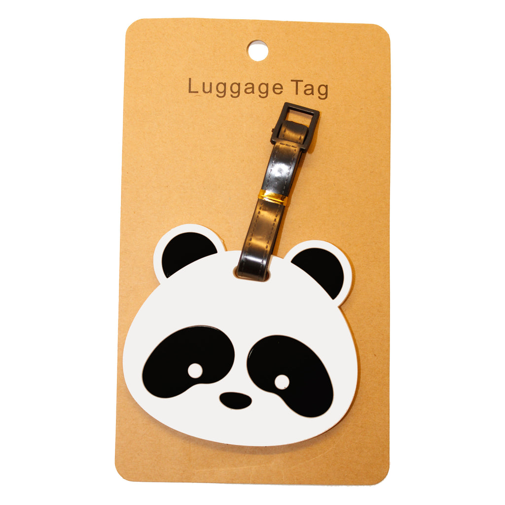 Cute Panda Bear Travel Luggage Tag (Comes in packs of 12 - $2.50 each)
