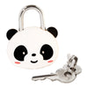 Panda Bear Keyed Padlock