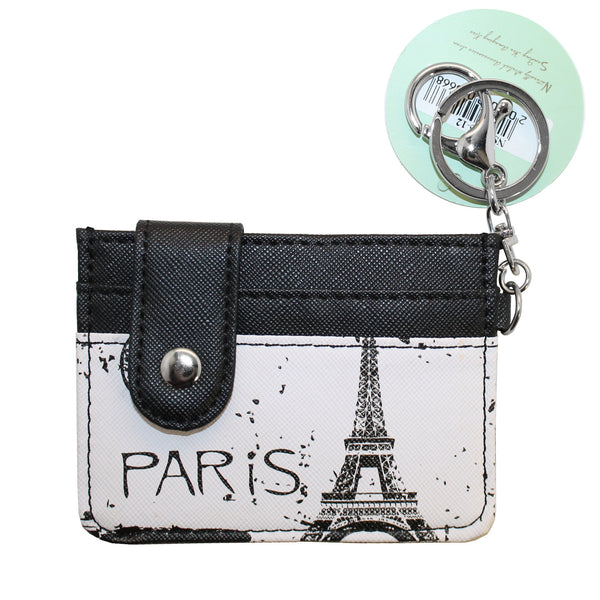Paris Eiffel Tower Wallet Coin Purse Accessory