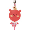 Pink Bear PVC Photo Holder Business Card Clip Hanger