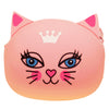 Pink Cat Queen Animal Silicone Rubber Coin Purse