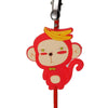 Red Monkey with Banana PVC Photo Holder Business Card Clip Hanger