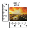 Route 66 Highway Hologram Fridge Magnet