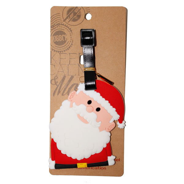 Christmas Santa Large Luggage Tag (Comes in packs of 12 - $2.50 each)