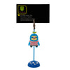 Blue Sloth PVC Photo Holder Business Card Clip Hanger