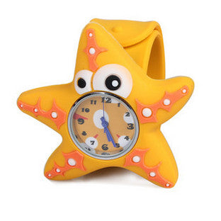 Silicone Starfish Design Slap Watch with Removable Watch Case ($2.50 ea.)