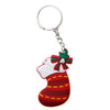 Christmas Stocking PVC Key Chain