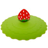 Strawberry Suction Cup Lid Mug Cover