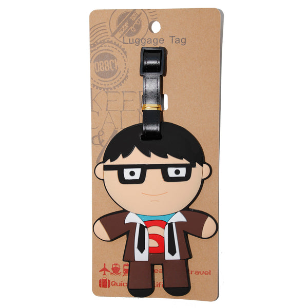 Clark Superhero Luggage Tag (Comes in packs of 12 - $2.50 each)