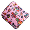 Japanese Toki Unicorn Bunny Foldable Shopping Bag w/ Zipper