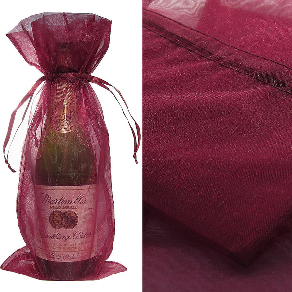 Wine Organza Wine Bag