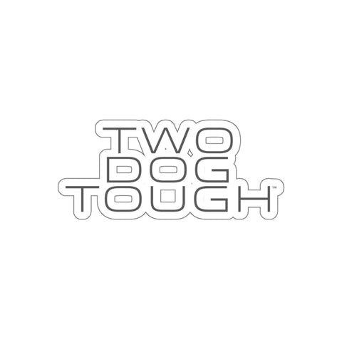 Two Dog Tough™ OG Stack House Kiss-Cut Stickers