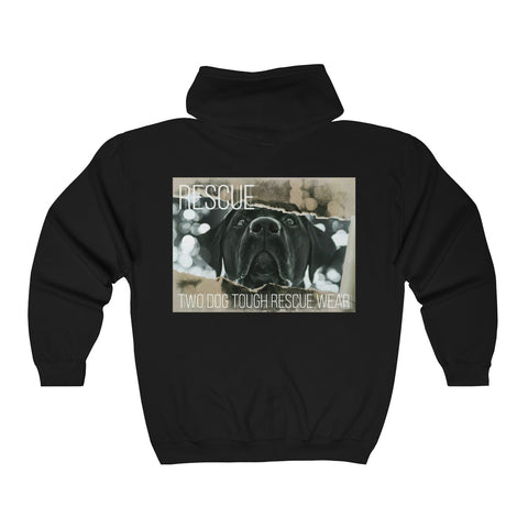 A.R.F. Project DOG-1 Unisex Heavy Blend™ Full Zip Hooded Sweatshirt