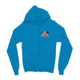 "TWO DOG TOUGH™ ""UNA THE BLUE"" Kids Zip Hoodie"