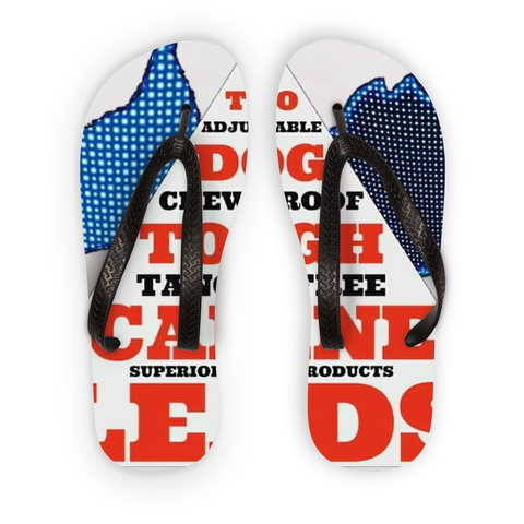 "TWO DOG TOUGH™ ""A.C.T. TRIANGLE"" Flip Flops"