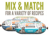 Mixed Recipes (Case of 8)