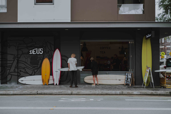 Surf now, buy later - Deus Manly