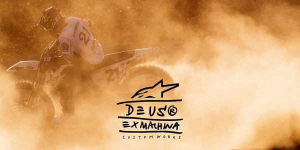 ALPINESTARS X DEUS EX MACHINA MX CAPSULE COLLECTION.