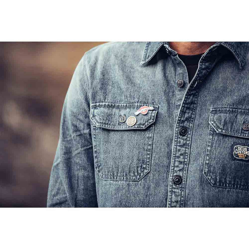 Maxwell Workers Shirt - Light Indigo