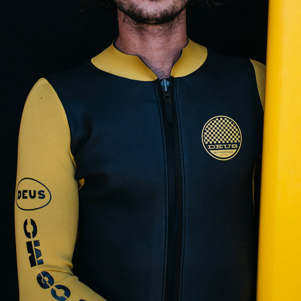 Racer Long Sleeve Wetsuit - Temple Gold