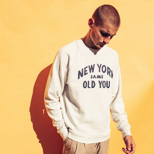 New You Crew - White Chalk