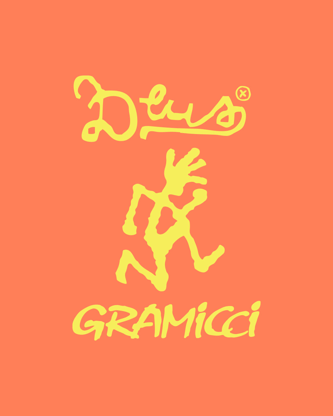 Gramicci X Deus Shorts - Super Lemon