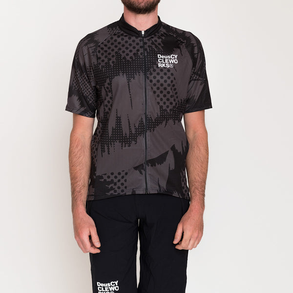 Tiliment Mtb Jersey - Black-Grey