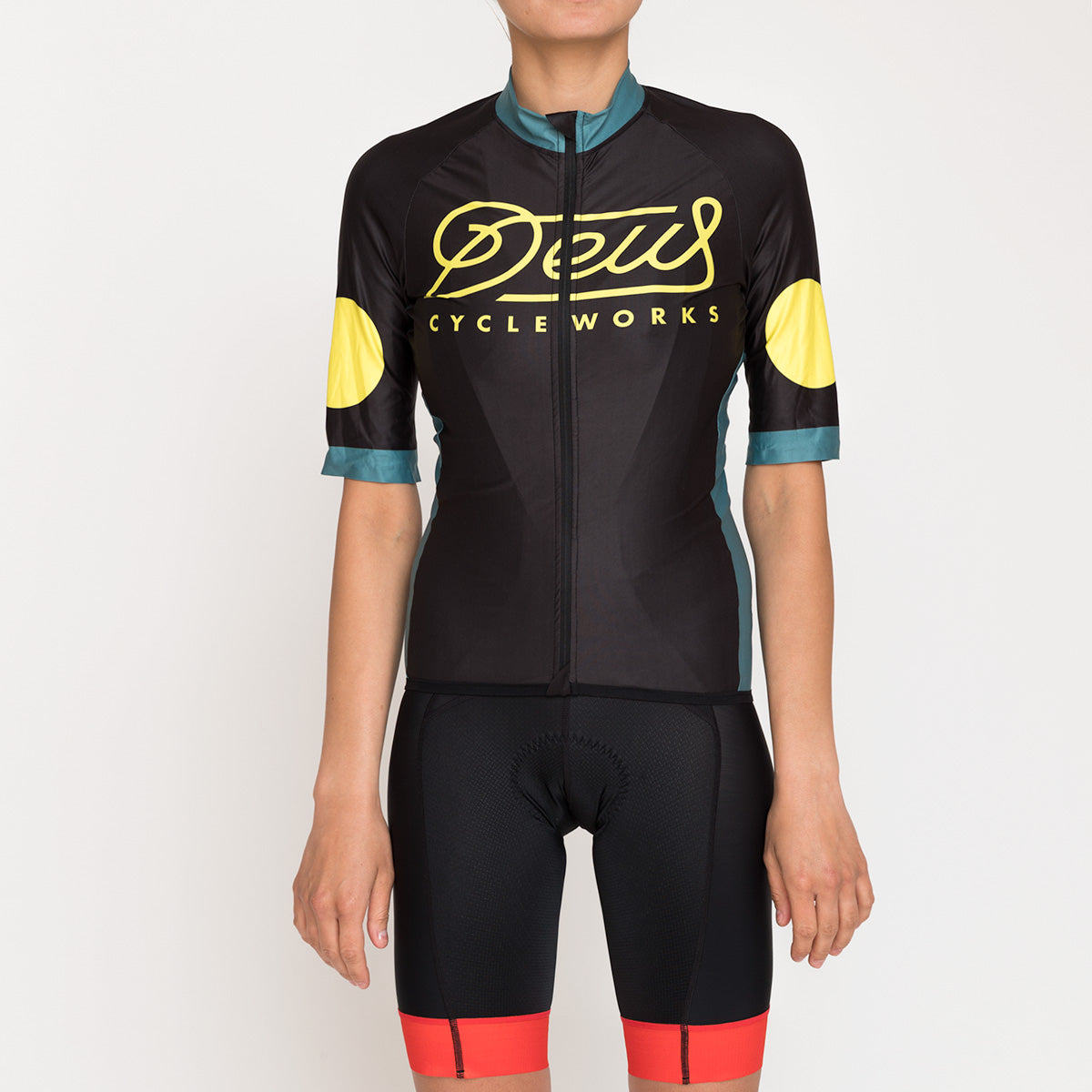 Breezer Mortirolo Jersey - Black-Teal