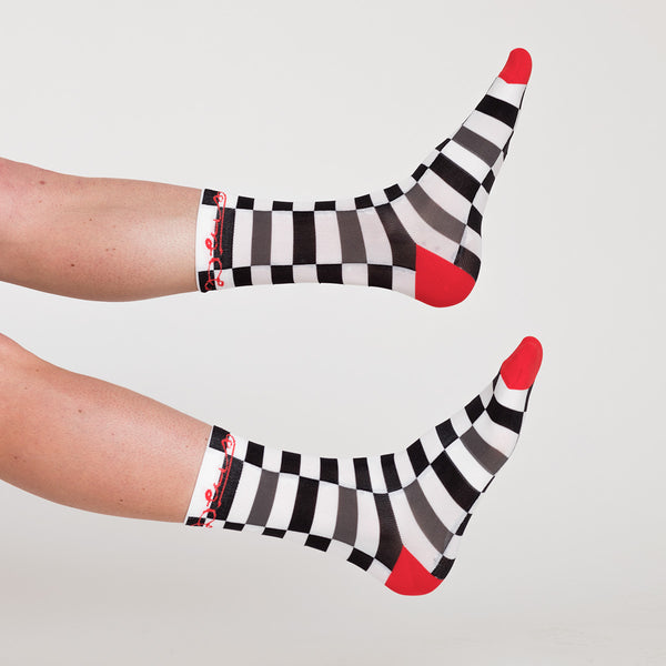 Fischer Socks - Black-White