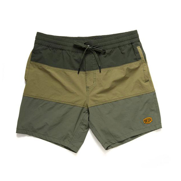 Sandbar Panels Boardshort - Greens