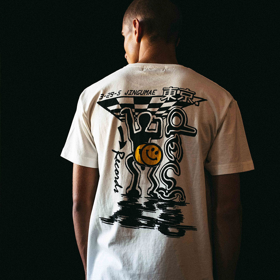 Bench Press Tee - Vintage White