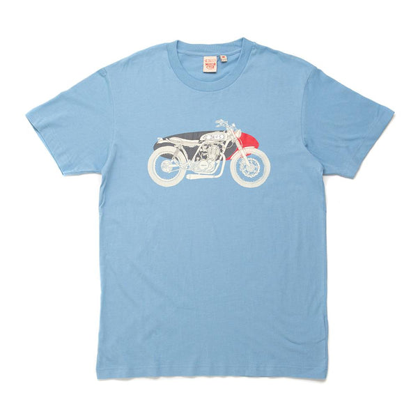 Kids Size Drovers Dog Tee - Blue