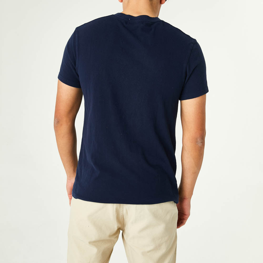 Bad Manners Tee - Navy