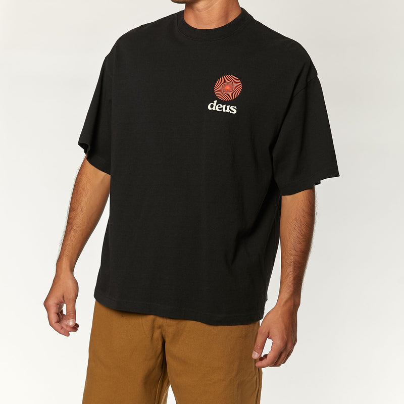Strata Tee - Phantom Black