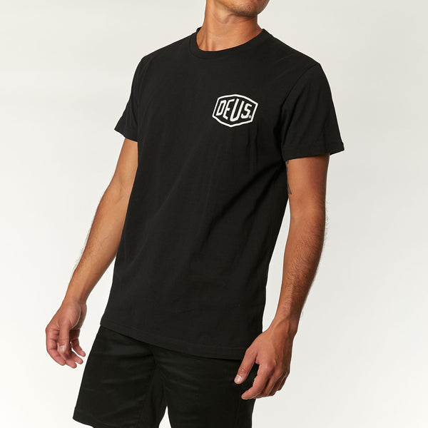 Venice Address Tee - Black