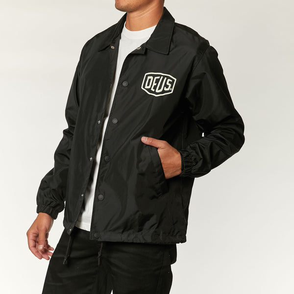 Venice Coach Jacket - Black