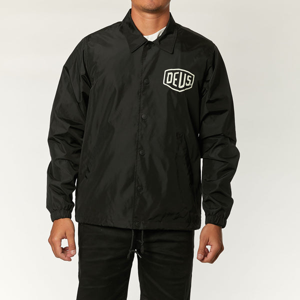 Canggu Coach Jacket - Black