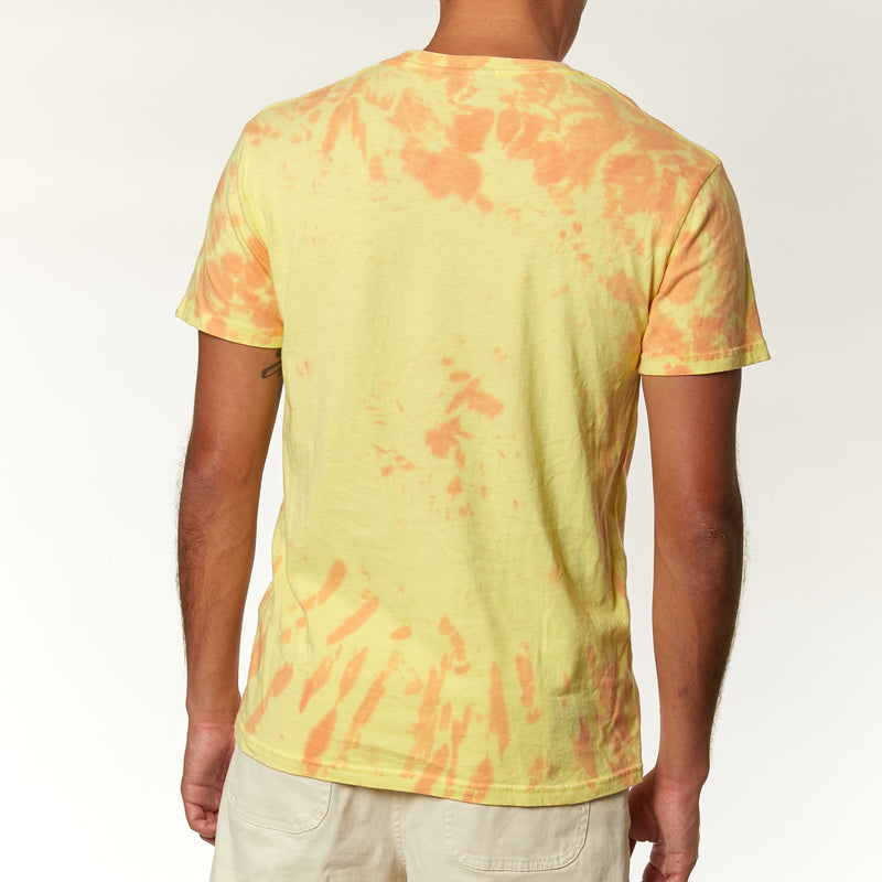 Jukebox Recycled Tie Dye Tee - Multi