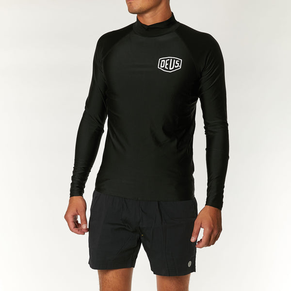 Baylands Shield Rash - Black