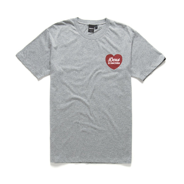 Sentiments Tee - Grey Marle