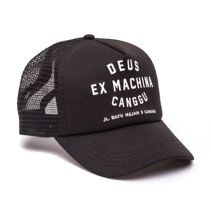 Canggu Address Trucker Hat - Black