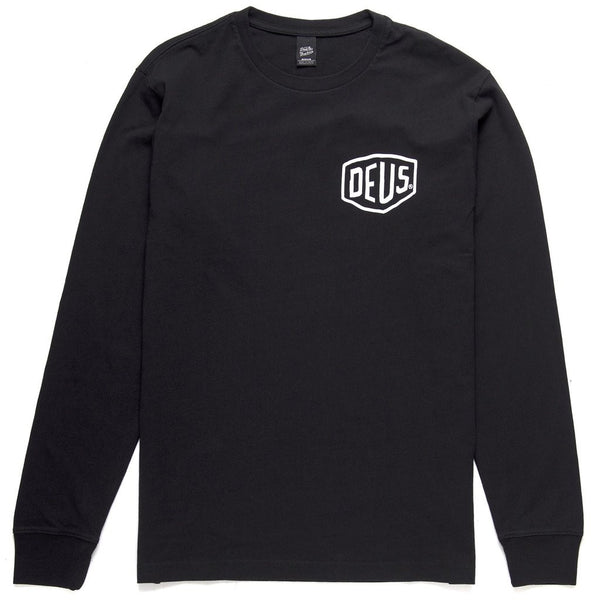 Camperdown Address Long Sleeve Tee - Black