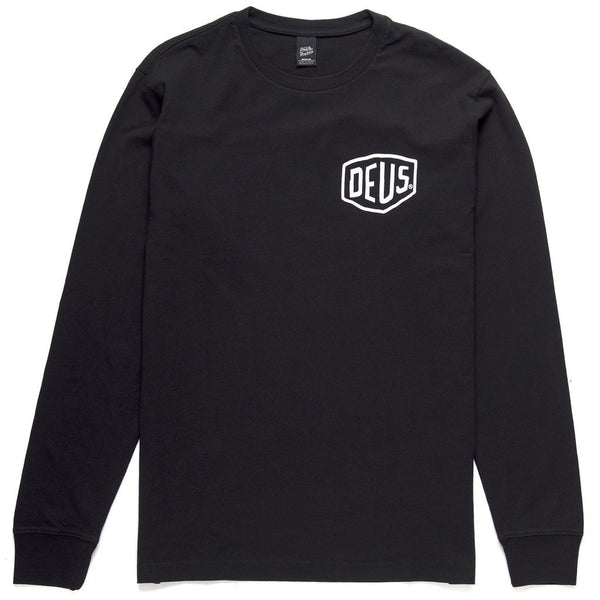 Ibiza Long Sleeve Tee - Black