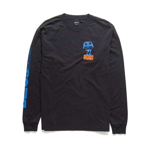 Sweet Ohm Long Sleeve Tee - Phantom Black