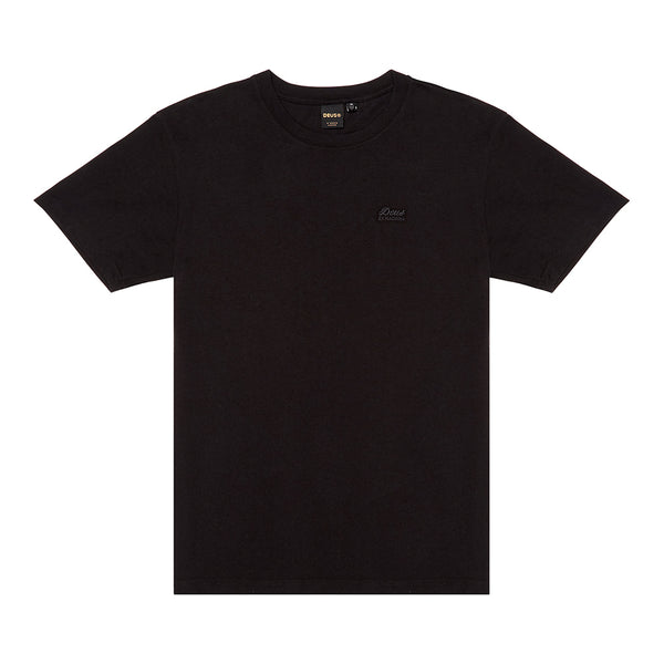Standard Embroidered Tee - Black